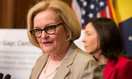 Sen. Claire McCaskill, D-Mo., wrote a letter seeking more information, along with Sen. Tom Carper, D-Del.