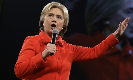 Democratic presidential candidate Hillary Clinton said VA's problems are not as widespread as they might appear.