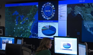 The National Cybersecurity and Communications Integration Center in Arlington, Va