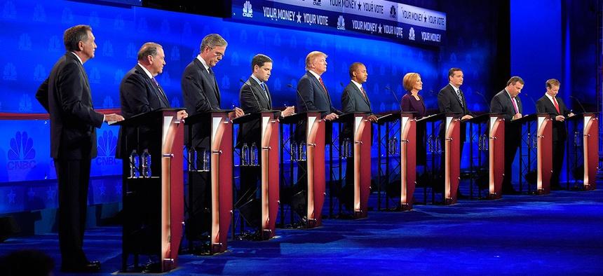 The most recent GOP debate was held Oct. 28 in Colorado.