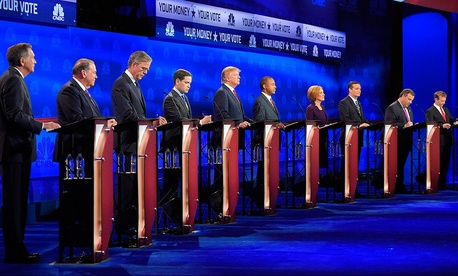 The most recent GOP debate was held Oct. 28 in Colorado.