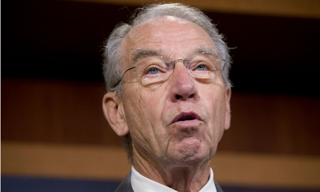 Sen. Chuck Grassley, R-Iowa, said a repeal would require 60 votes in the Senate.