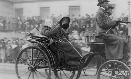 Woodrow Wilson on Armistice Day, 1921