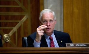 """Senate Foreign Relations Committee member Sen. Ron Johnson, R-Wis., questions Deputy Assistant Secretary of State Benjamin Ziff, on Capitol Hill in Washington, Tuesday, Nov. 3, 2015, during the committee's hearing entitled: """"Putin's Invasion of Ukraine an"""