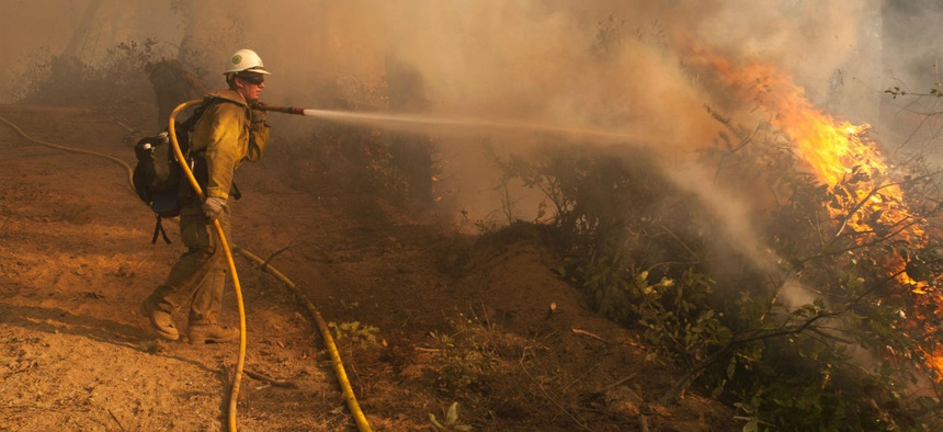 USDA would likely send home a higher percentage of its workers than it had planned to in September, because it is no longer in the middle of wild fire season.
