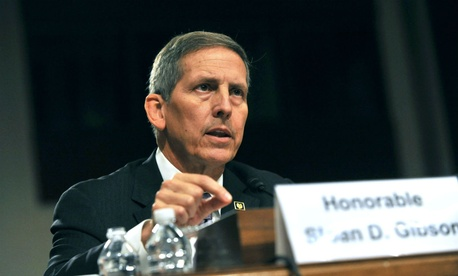 VA Deputy Secretary Sloan Gibson said the evidence did not warrant firing the executives.