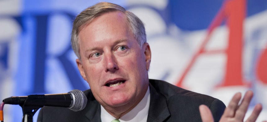 Rep. Mark Meadows, R-N.C., says he will hold the Army and contractor to an October deadline for making the transition.