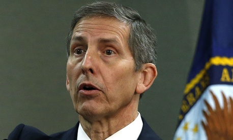 VA Deputy Secretary Sloan Gibson appeared frustrated by the decision.