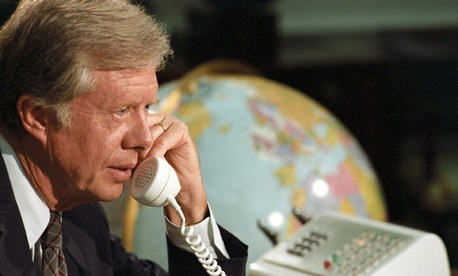 Jimmy Carter during his presidency.
