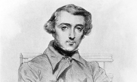 "Alexis de Tocqueville, French author of the classic ""Democracy in America."""