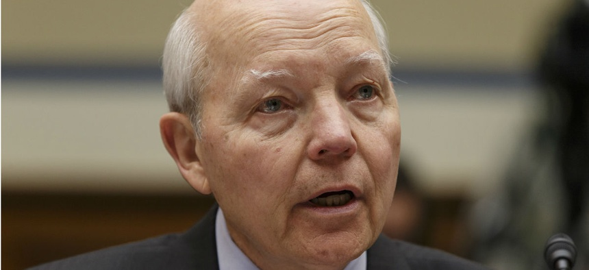"""IRS chief John Koskinen said, """"We spend so much time in government defending ourselves."""""""