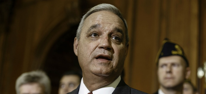 "Rep. Jeff Miller, R-Fla., said Tuesday's announcement of proposed firings should serve as a ""wakeup call"" to overhaul the entire civil service system."