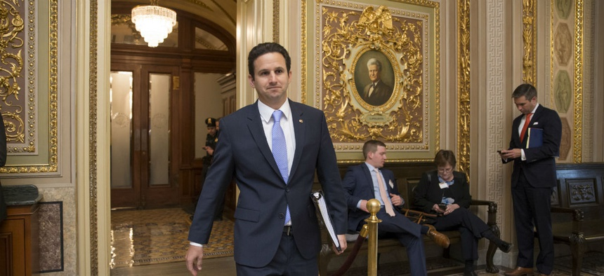 Sen. Brian Schatz, D-Hawaii, a member of the Senate Appropriations Committee, wants to give feds a big raise.