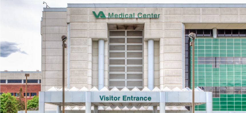 The VA Medical Center in Minneapolis.
