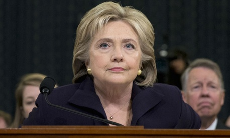 Hillary Clinton testifies before the House Benghazi Committee. The committee is slated to release a final report this summer.