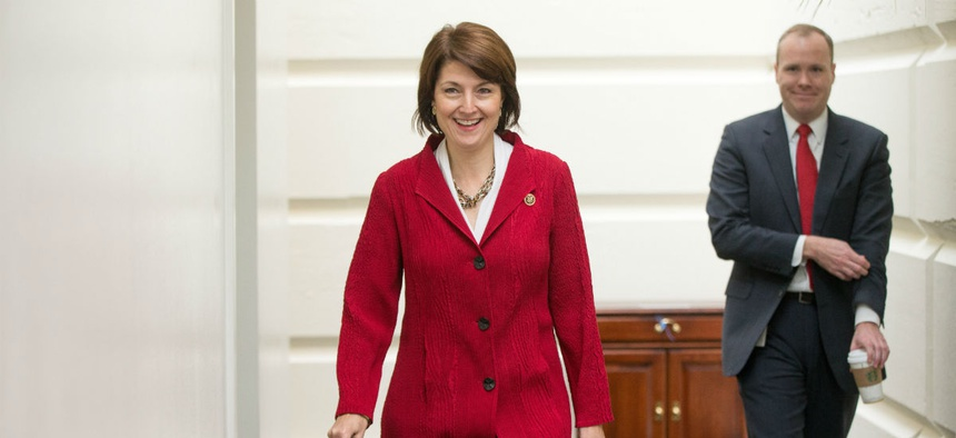 Rep. Cathy McMorris Rodgers, R-Wash., introduced a bill to overhaul VHA.