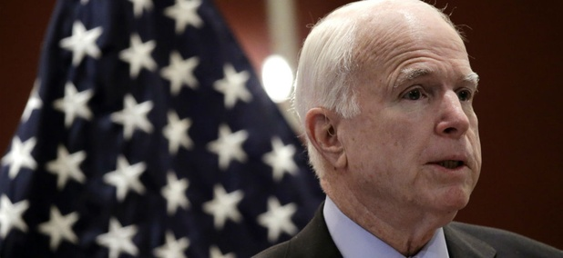 Sen. John McCain wants to reorganize the Pentagon's acquisition bureaucracy.