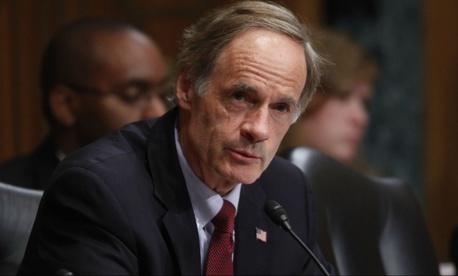 Sen. Tom Carper, D-Del., organized the event to counter negative stories in the media.