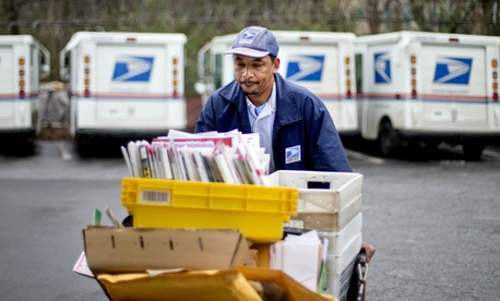 Image result for USPS Employee