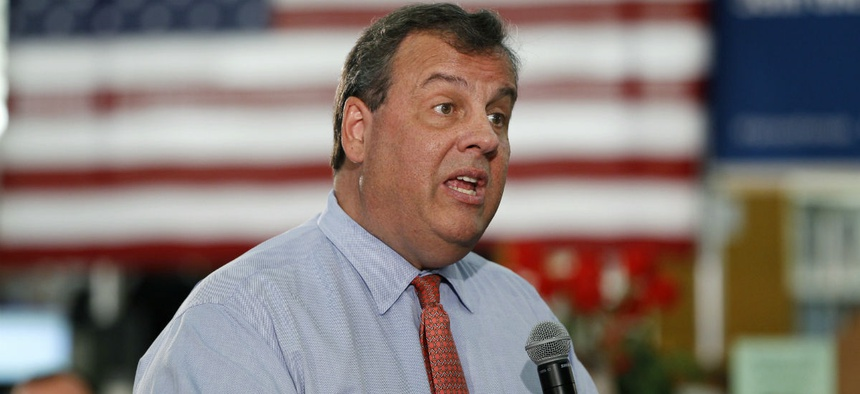 New Jersey Gov. Chris Christie, who is heading Trump's transition team, said he is recommending Trump immediately work with Congress to change civil service laws.