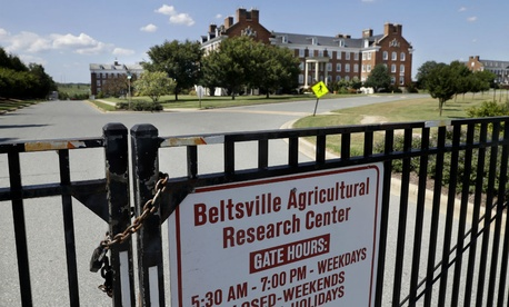 The Beltsville Agricultural Research Center is one of the facilities that was closed on Tuesday, but has now reopened with additional security.