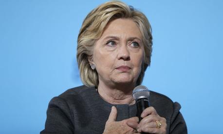 Democratic presidential nominee Hillary Clinton campaigns in New Hampshire.