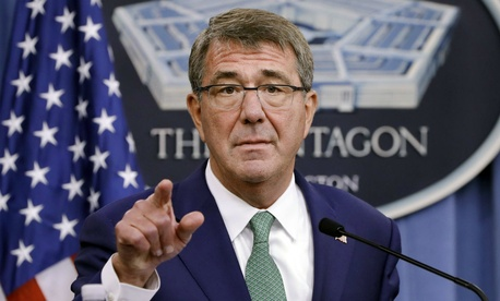 "Defense chief Ash Carter said: ""We will provide for a process that puts as little burden as possible on any soldier who received an improper payment through no fault of his or her own."""