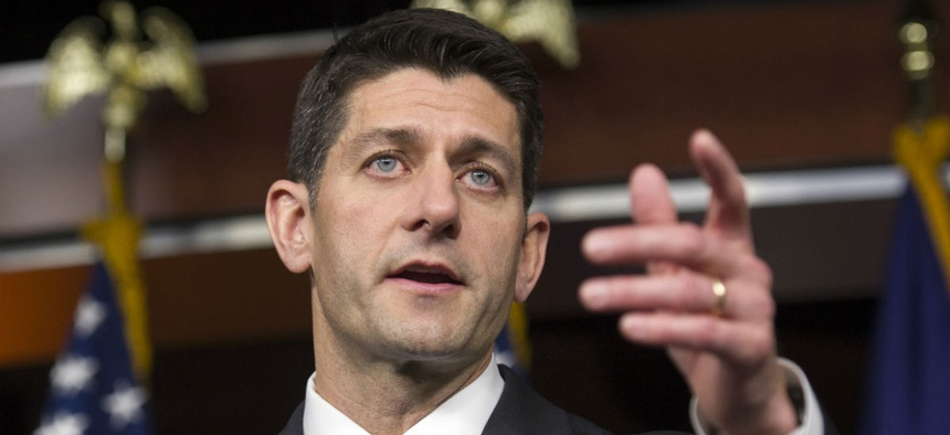 House Speaker Paul Ryan has been under fire from members of his own party after distancing himself from the GOP presidential nominee.