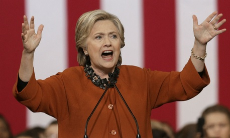 Democratic presidential nominee Hillary Clinton campaigns in North Carolina.