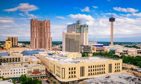The San Antonio skyline.