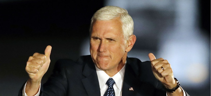 Vice President Elect Mike Pence.