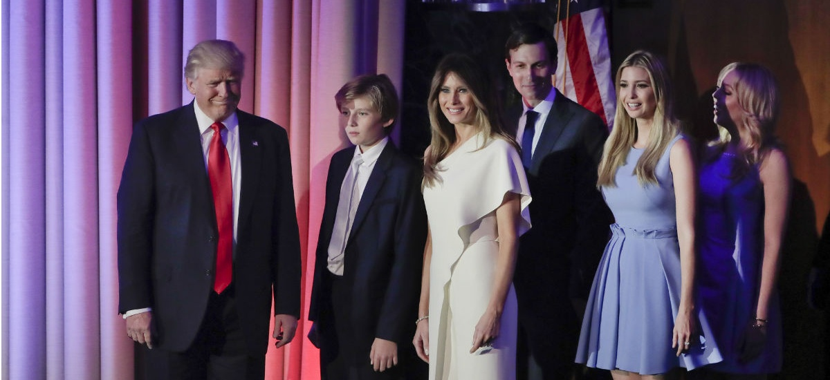 Why Donald Trump (and His Family) Won't Be Subject to