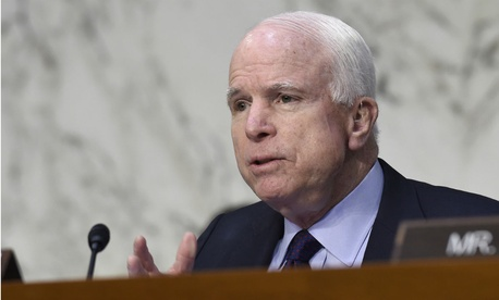 Senate Armed Services Committee Chairman John McCain, R-Ariz., has pushed provision to separate acquisition from research and engineering functions.