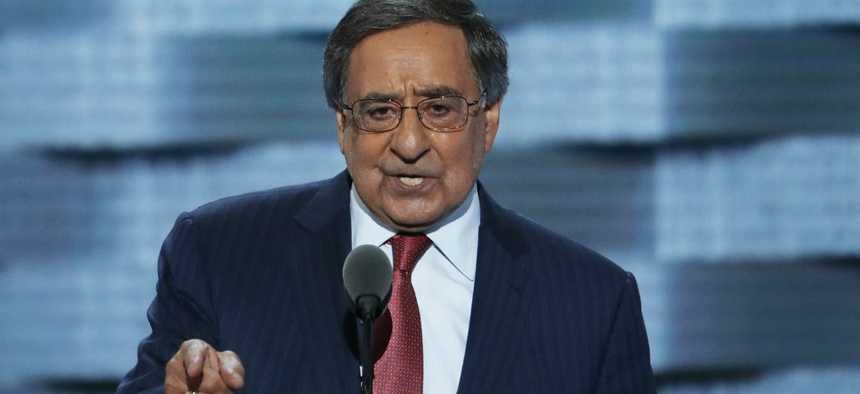 """Leon Panetta, former budget director under President Clinton, said: """"It helps if it's one son-of-a-bitch, who knows the numbers and the budget and the implications."""""""