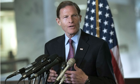 "Sen. Richard Blumenthal, D-Conn., said: ""Protecting federal employees against political retaliation is a bedrock principle of our civil service."""