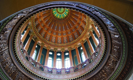 Illinois Statehouse dome