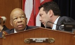 The government's ethics chief would like House Oversight and Government Reform Committee ranking member Elijah Cummings (left) and Chairman Jason Chaffetz to hold a meeting open to the public.