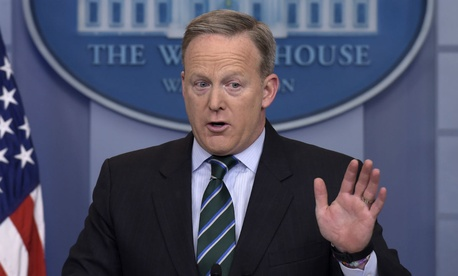 "White House Press Secretary Sean Spicer said the freeze is to ""make sure we're hiring smartly and effectively and efficiently."""