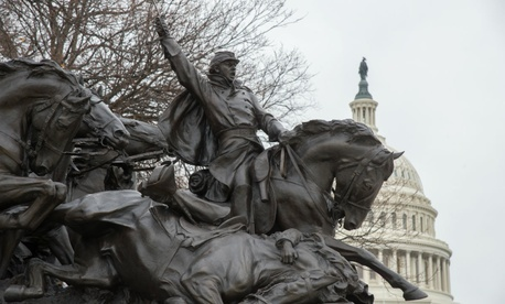 The Grant Memorial at the U.S. Capitol.