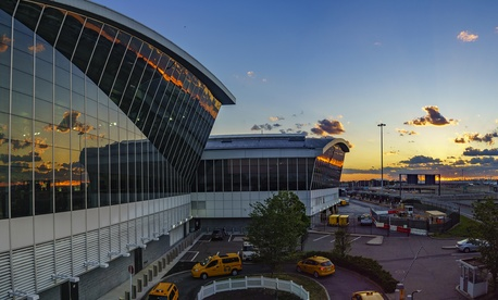 New York's John F. Kennedy International Airport is shown in 2016.