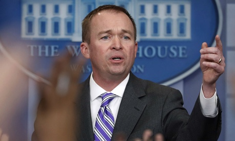 "OMB Director Mick Mulvaney said agency leaders will have ""more discretion than is typical"" in determining workforce cuts."