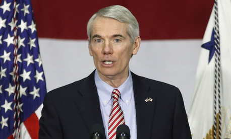 Sen. Rob Portman, R-Ohio, is one of the lawmakers who introduced the bill.