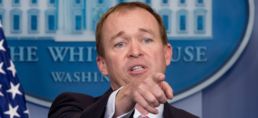 OMB Director Mick Mulvaney has instructed agencies to reduce their workforces.