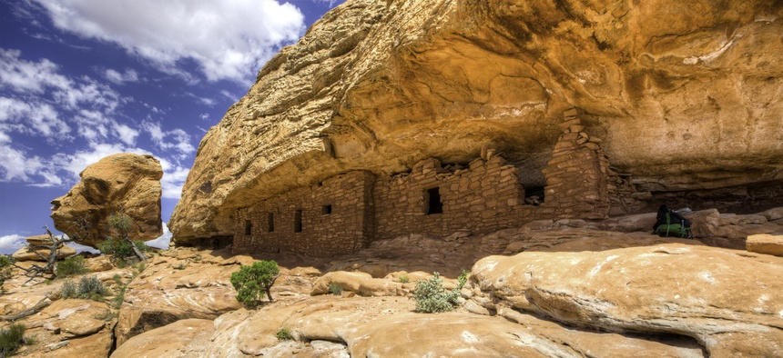The Trump administration will review the status of The Bears Ears National Monument in Utah, one of the country's most significant cultural sites.