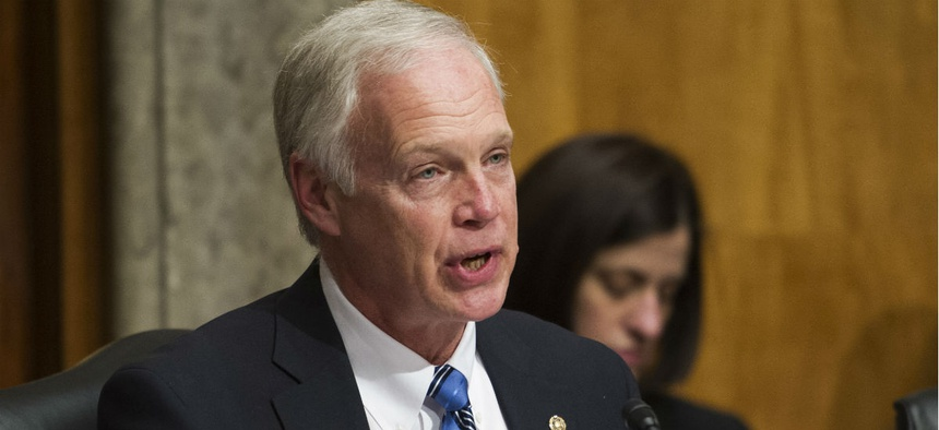Sen. Ron Johnson, R-Wis., was one of the bill's original cosponsors.