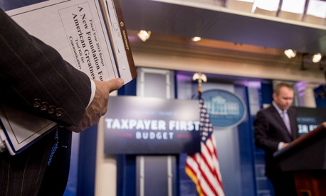 White House Budget Director Mick Mulvaney says the administration's budget puts taxpayers first.