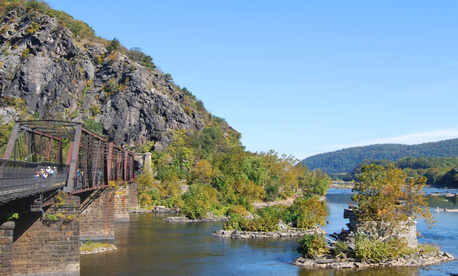 West Virginia's  Harper's Ferry Bridge