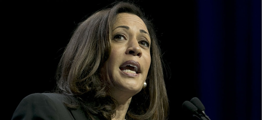 "Sen. Kamala Harris, D-Calif., is one of the lawmakers requesting documents and an explanation of the decision to drop the ""Sexual Orientation and Gender Identity"" category."