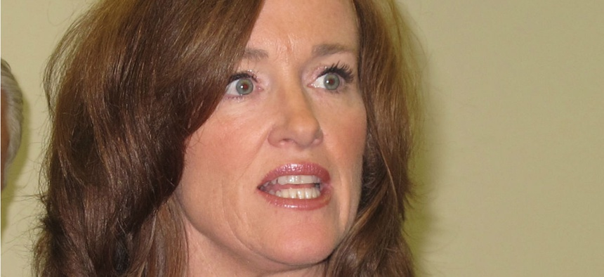"""Rep. Kathleen Rice, D-N.Y., and a colleague wrote: """"If this administration is categorically prohibiting basic communication with Democrats, then they are prioritizing politics and loyalty over national security and common sense."""""""