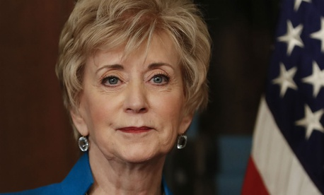 "SBA Administrator Linda McMahon said the agency acts as ""counselor and mentor for networking and helping you all the way, answering your questions."""